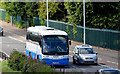 J3775 : Ulsterbus coach, Sydenham bypass, Belfast (June 2014) by Albert Bridge