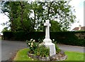 TL6453 : War memorial, Carlton by Bikeboy