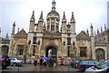 TL4458 : King's College Gate by N Chadwick