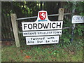 TR1759 : Fordwich Town Sign by Chris Whippet