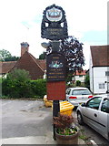 TR1859 : Fordwich Arms pub sign by Chris Whippet