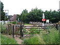 TR1760 : Pedestrian Level Crossing, Sturry by Chris Whippet