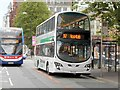 SJ8497 : Buses on Oxford Road by David Dixon