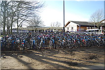 SP5006 : Bikes at Oxford Station by N Chadwick