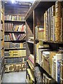 SJ8398 : Cellar Archives, John Rylands Library by David Dixon