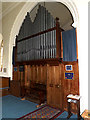 TM3761 : Organ of St.Mary's Church by Adrian Cable