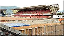 J3272 : The North Stand, Windsor Park, Belfast - July 2014(1) by Albert Bridge