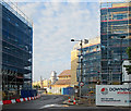 TL4657 : Rail Yard taking shape by John Sutton