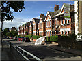 TQ3276 : Terrace of paired houses, nos 69-79a Grove Lane, Camberwell by Robin Stott