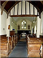TM3377 : Inside of St.Margaret of Antioch Church by Adrian Cable