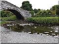 SH7961 : Pont Fawr and Tu hwnt  i'r bont by Richard Hoare