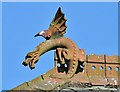NY1966 : A roof dragon at Annan by Walter Baxter