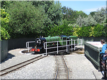 TA0390 : Turntable on the North Bay Railway by Pauline E