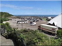 TA0390 : Car park, Sea Life Sanctuary by Pauline E