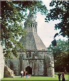ST5038 : Abbot's kitchen, Glastonbury Abbey by Flying Stag