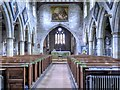 SE2280 : Nave, St Mary's Church, Masham by David Dixon