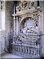 SE2280 : Wyvill Monument, St Mary's Church by David Dixon