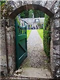 NJ6004 : Arched exit from Findrack walled-garden by Stanley Howe