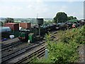 SU6332 : The loco yard at Ropley Station by Christine Johnstone