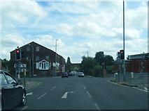 SE2334 : Swinnow Lane/Stanningley Road junction by Colin Pyle