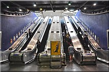 TQ3979 : London : Royal Borough of Greenwich - North Greenwich Underground Station by Lewis Clarke