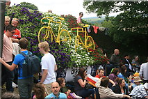 SK2692 : Bradfield in Bloom waiting for 'Le Grand Départ' by Graham Hogg
