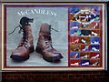 C9440 : Panel, McCandless shoe shop (1) by Kenneth  Allen