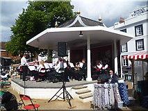TQ5838 : The bandstand on the Pantiles, Tunbridge Wells by Marathon