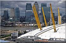 TQ3979 : London : Royal Borough of Greenwich - O₂ Arena by Lewis Clarke