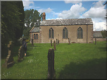 NY5619 : St Mary's Church, Little Strickland by Karl and Ali