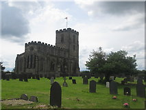 SK4023 : Priory church, Breedon on the Hill by John Slater