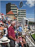 SK5838 : Trent Bridge: Test Match crowd by John Sutton