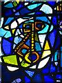 NO1123 : Stained glass window, St John's Kirk, Perth by William Starkey