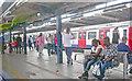 TQ3982 : West Ham Station: platform scene by Ben Brooksbank