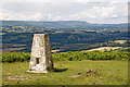 SO4325 : Trig Point, Garway Hill by Stuart Wilding