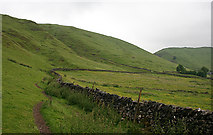 SK1482 : Drystane Dyke by Anne Burgess