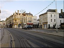 SP0202 : Market Place Cirencester by Paul Best