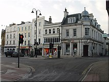 SP0202 : HSBC and Market Place Cirencester by Paul Best