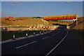SD4764 : Temporary bridge over Slyne Road (A6) by Ian Taylor