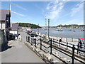 SH7877 : Conwy quayside by Richard Hoare