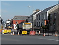 SS9079 : Diversion - Nolton Street closed, Bridgend by Jaggery
