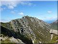 NR9641 : A'Chir and Pagoda Ridge by Alan O'Dowd