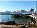 NS0235 : MV Caledonian Isles at Brodick Pier by Alan O'Dowd