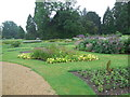 TL5238 : Flowers in Parterre - Audley End Gardens by Paul Gillett