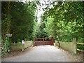 SU5522 : The rear entrance to Belmore Park by Christine Johnstone