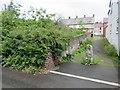 SJ2363 : Alley off Brook Street, Mold by John S Turner