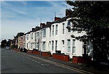 ST3186 : Row of houses in Arthur Street, Newport by Jaggery