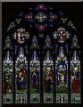 TQ8212 : East window, St Helen's church, Ore by Julian P Guffogg