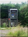 NU1622 : Telephone box at North Charlton by Graham Robson