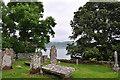 NM7701 : Graveyard, The Old Chapel, Craignish by Stuart Wilding